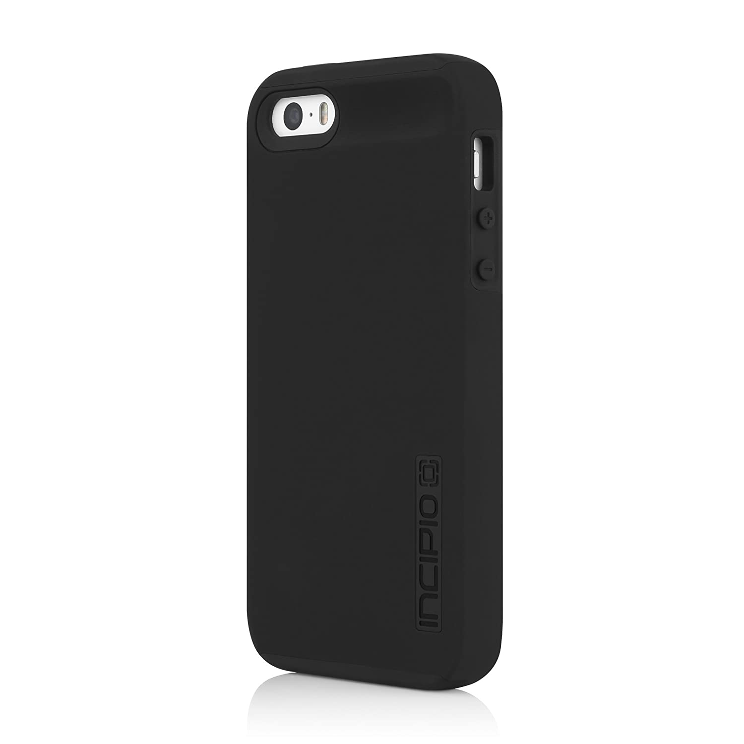 iPhone SE Case, Incipio [Hard Shell] [Dual Layer] DualPro Case for iPhone SE-Black/Black