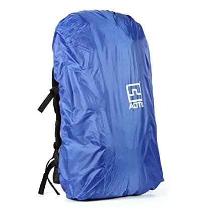 Image Unavailable. Image not available for. Color  AOTU 40-90L Rainproof Backpack  Cover Rain Cover Waterproof Bag Free Foldable for Outdoor Travel 9a548e0c3cac0