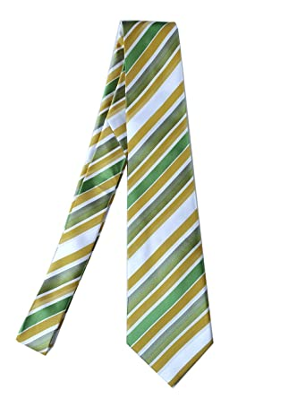 Towergem Extra Larga Corbata de Poliéster XL multicolor Rayas ...