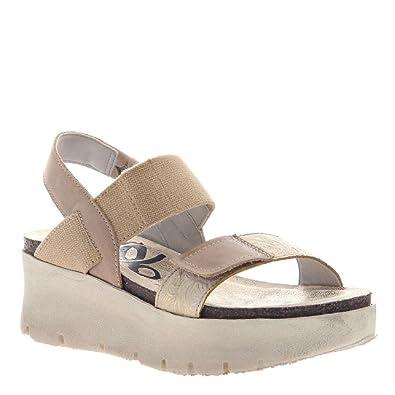 2aa7ac0e01 Amazon.com | OTBT Women's Nova Sandal, Gold Yellow - 10 M | Sandals