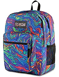 Trans by Jansport Supermax Multi Acid Rainbow Swirl Backpack