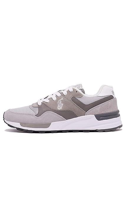 Polo Ralph Lauren Sneakers Uomo Mod. 809773080 002 Grey: Amazon.es ...