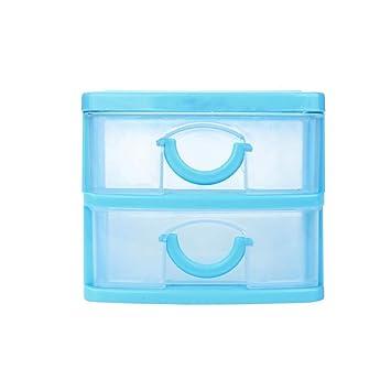 Amazon.com: Caja de maquillaje de plástico para cajones de ...
