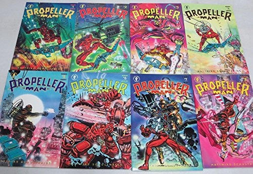 PROPELLER MAN (1993 DH) 1-8 SCHULTHEISS classic complet