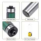 uxcell Router Bit 1/4 Shank 1/2 inch Cutting
