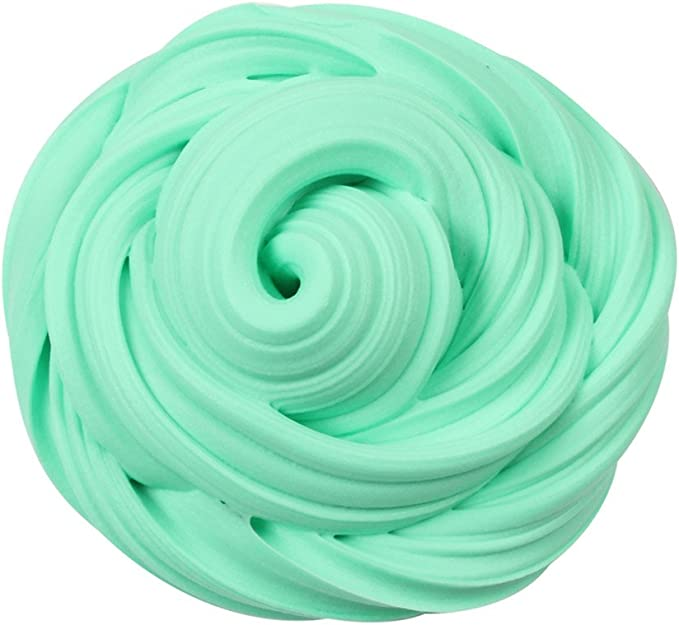 Fluffy Floam Putty Rainbow Floss Cloud Crystal Stress Toys O6E9 NEW Relief N4T3
