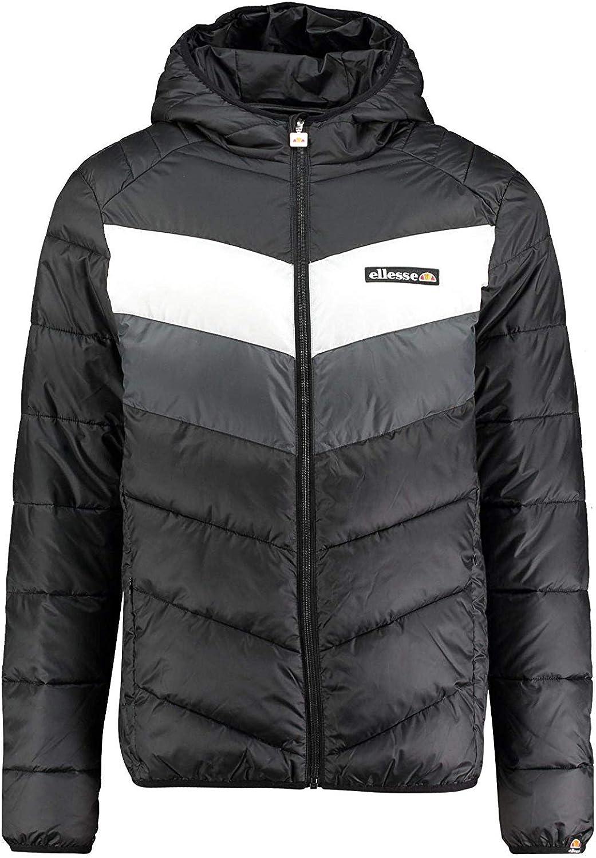 ellesse Jacke Herren GINAP Jacket SHZ02370 Schwarz Anthracite