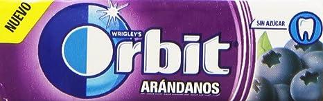 Orbit Chicle con Sabor a Arándanos - 10 Unidades