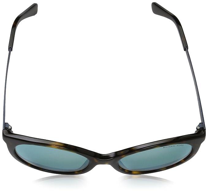 e9cd76e9715a4 Amazon.com  Michael Kors Women s Island Tropics Dark Tortoise Teal Mirror  One Size  Clothing