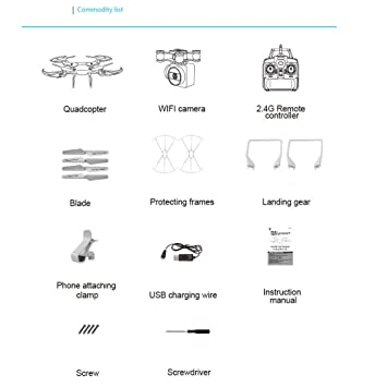 Amazon Inverlee 24g Altitude Hold 03mp Hd Camera Quadcopter. Amazon Inverlee 24g Altitude Hold 03mp Hd Camera Quadcopter Rc Drone Wifi Fpv Live Helicopter Hover A Good Gift For Children White Toys Games. Wiring. Drone Wi Fi Camera Wiring Diagram At Scoala.co