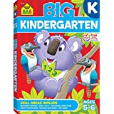 School Zone - Big Kindergarten Workbook - Ages 5-6, Early Reading and Writing, Numbers 0-20, Matching, Story Order, and More