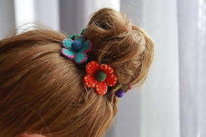 Amazon Usongs New Nepal Handmade Flower Hair Ring Hair Rope