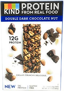 product image for Kind, Protein Bars Crunchy Double Dark Chocolate Nut, 1.76 Ounce, 12 Count