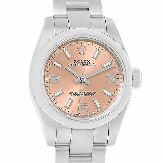 Rolex Oyster 176200 - Reloj de pulsera para mujer, automático, con certificado de autenticidad: Rolex: Amazon.es: Relojes