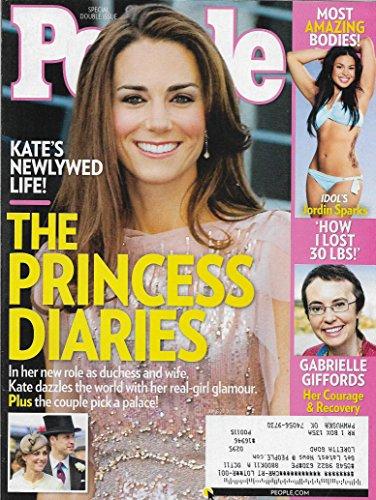 Princess Kate Middleton l Gabrielle Giffords l Jordin Sparks - June 27, 2011 People Publication Special Double Issue
