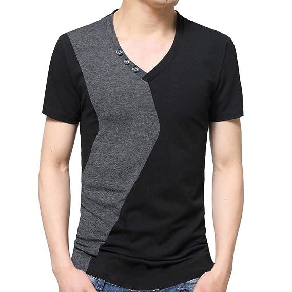 waotier Camiseta De Manga Corta De Hombre Camiseta De Verano para ...