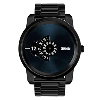 eae9d6cc28 Rockyu ブランド 人気 メンズ 男女兼用 腕時計 オシャレ 防水 サファイアガラス 海外ブランド メンズ時計