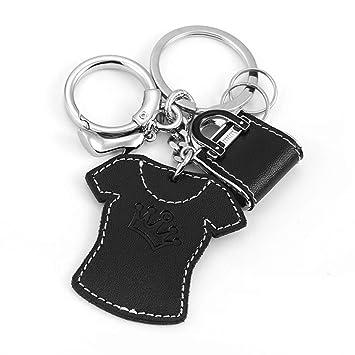 CKH Lindo coche llave colgante mini camiseta llavero anillo ...
