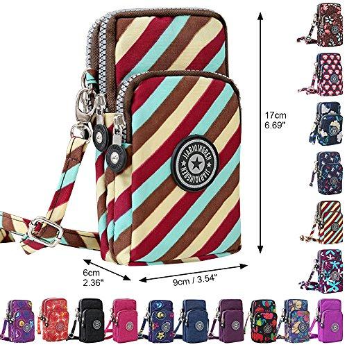 Phone Bag Twill Purse Wristlet Multifunction Mini Cell Crossbody New Handbags Wocharm Colourful xtUH1wqPIn