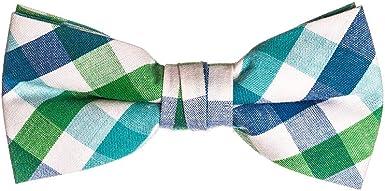 Boys Light Blue Bow Tie Little Baby Toddler Kids Adjustable Pretied