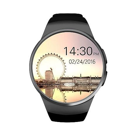 Reloj inteligente Bluetooth para teléfono móvil, soporte para llamadas y tarjeta SIM, función de
