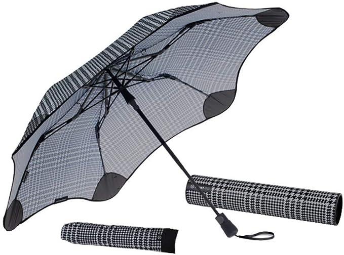Blunt Parapluie TEMP/ÊTE Pliant 6 Baleines Incassables Fibre de Verre Ultra R/ésistant Menthe Large Protection de 95 CM de diam/ètre Anti Vent Anti Retournement