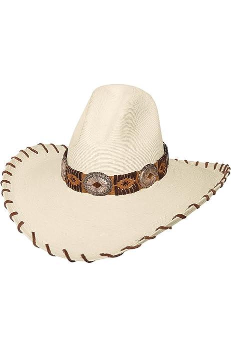 WHISKEY RIVER 20X Bangora Straw Western Cowboy Hat New Bullhide Hats