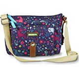 Lily Bloom Cristina Crossbody Eco Friendly Bag in Uni Corny - Unicorn Pattern