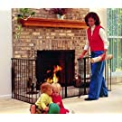 KidCo Auto close Hearth Gate, black, G3100