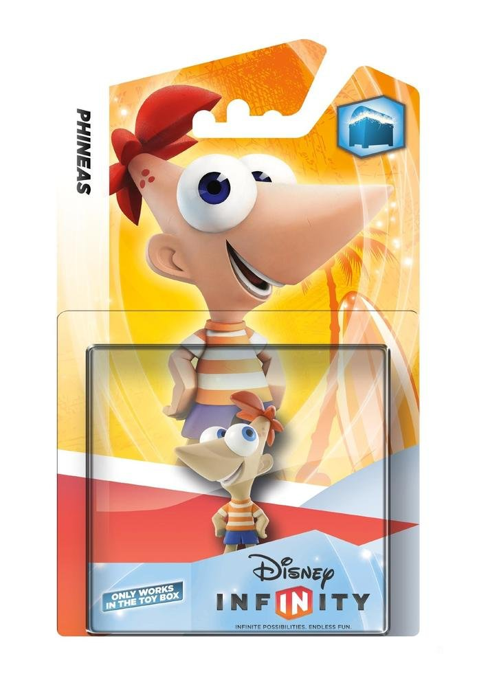 Disney Infinity Character - Phineas (PS4/PS3/Xbox One/Xbox 360/Nintendo Wii/Nintendo Wii U/Nintendo 3DS) by Disney (Image #1)