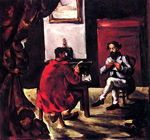 The Museum Outlet - Paul Alexis reads before Zola by Cezanne - A3 Poster