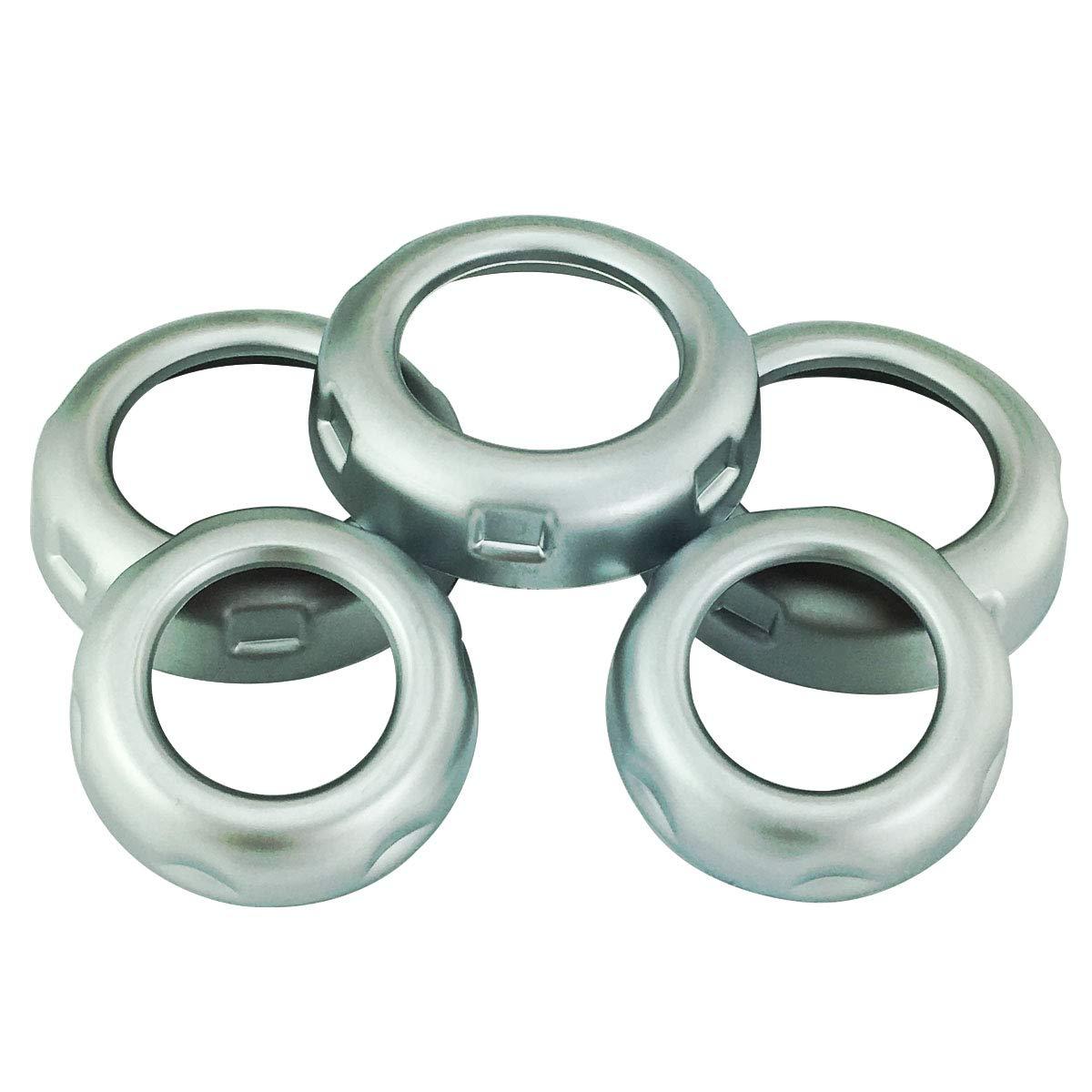Amazon.com: Abfer - Juego de 5 anillos de botón de botón ...