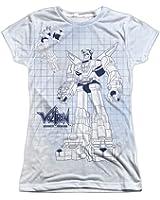 Sublimation: Junior Fit - Blueprint Voltron T-Shirt
