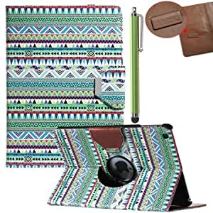 Bloutina Pandamimi ULAK(TM) 360 Rotating Magnetic PU Leather Stand Case Smart Cover For Apple iPad air iPad 5 With Screen...