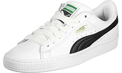 Puma Herren Basket Classic LFS Sneaker, Weiß (White-Black 22), 40 EU