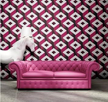 Eurotex 3d Design Wallpaper Roll For Covering Living Room