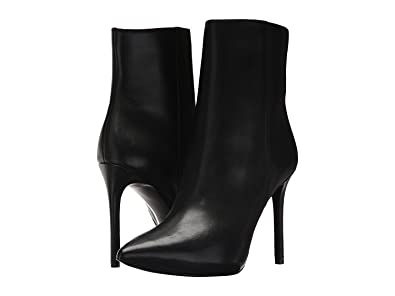 755d0d7782b6 Michael Michael Kors Leona Leather High Heel Booties (7.5) Black