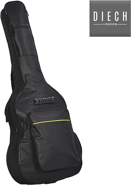 Funda acolchada para guitarra acústica y clásica DIECH | Funda ...