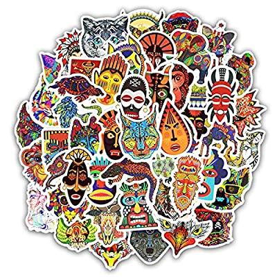 Cute VSCO Stickers Laptop Stickers Water Bottle Stickers Luggage Decal Graffiti Patches Skateboard Stickers No-Duplicate Sticker for Kids Teens Girls (50 Pcs Ethnic Style): Arts, Crafts & Sewing [5Bkhe0504212]
