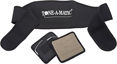 Sold as an Accessory Only Tone-A-Matic Electronic//Electric Muscle Stimulator//TENS Multi-Functional Therapy Garment Waist /& Back Belt