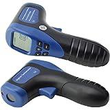 Ehdis Digital LCD Laser Photo Tachometer Non-Contact RPM Meter Motor Speed Gauge Gun Style Surface Speed Tach Meter Speedo