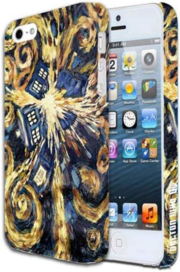 Underground Toys Doctor Who Van Gogh Exploding TARDIS iPhone 5 Case