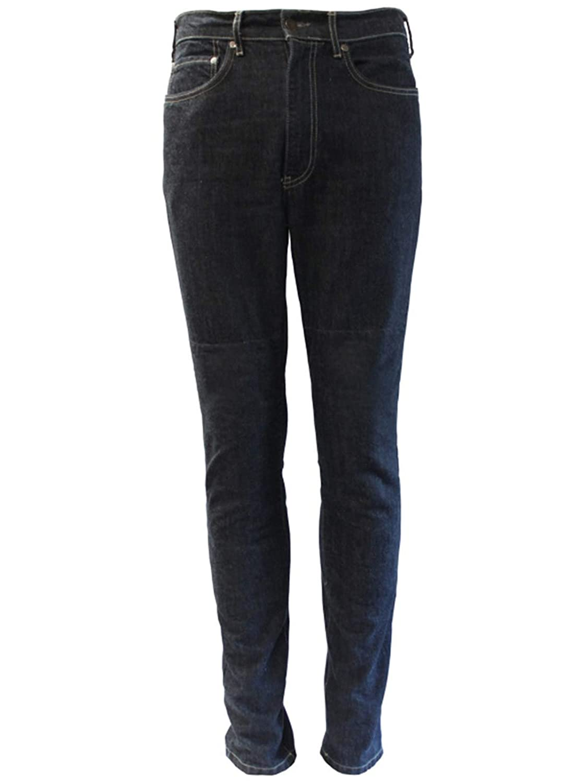30 Waist, Blue Bull-It Blue Stealth One Skin Slim Regular Motorcycle Jeans