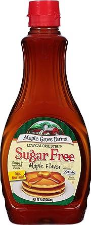 jarabe sabor maple sin azucar