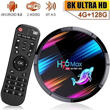 Android 9.0 TV Box H96 MAX X3 4GB RAM 128GB ROM Amlogic S905X3 CPU ...