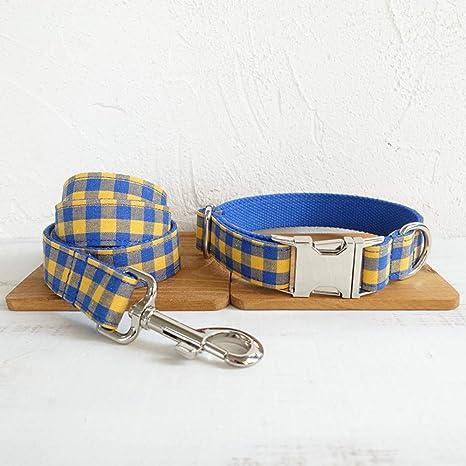 Gulunmun Dog Lead + Collar de Perro, Juego de Correas y Correas ...
