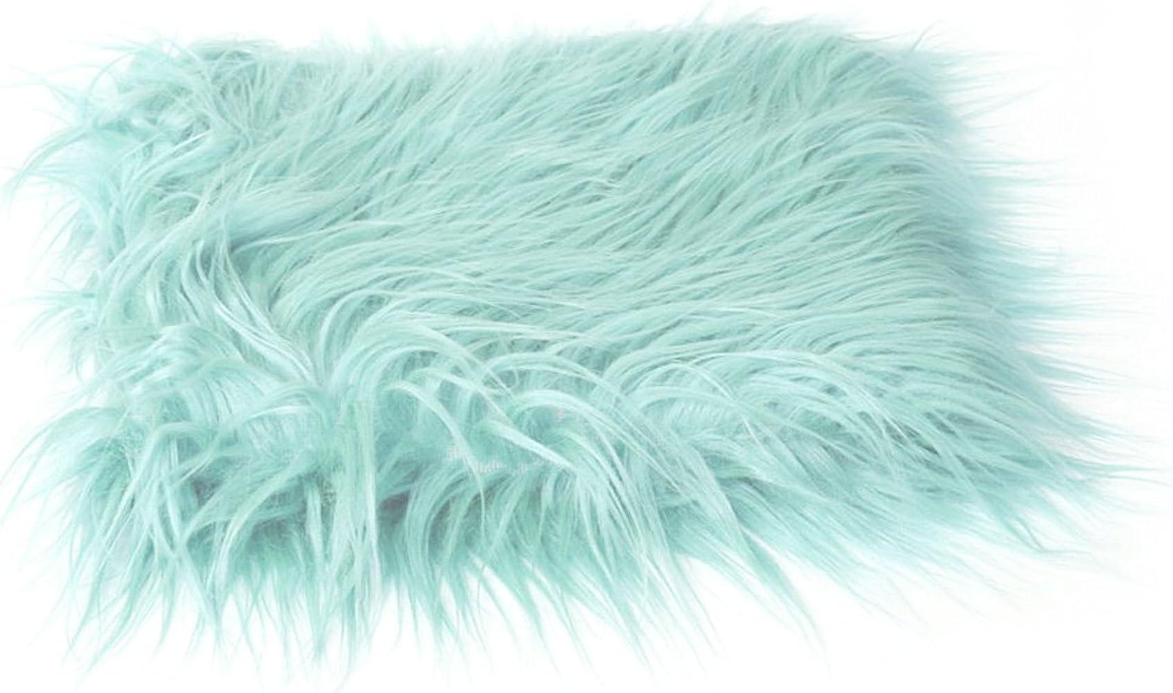 Amazon.com: slaxry recién nacido suave piel sintética manta ...