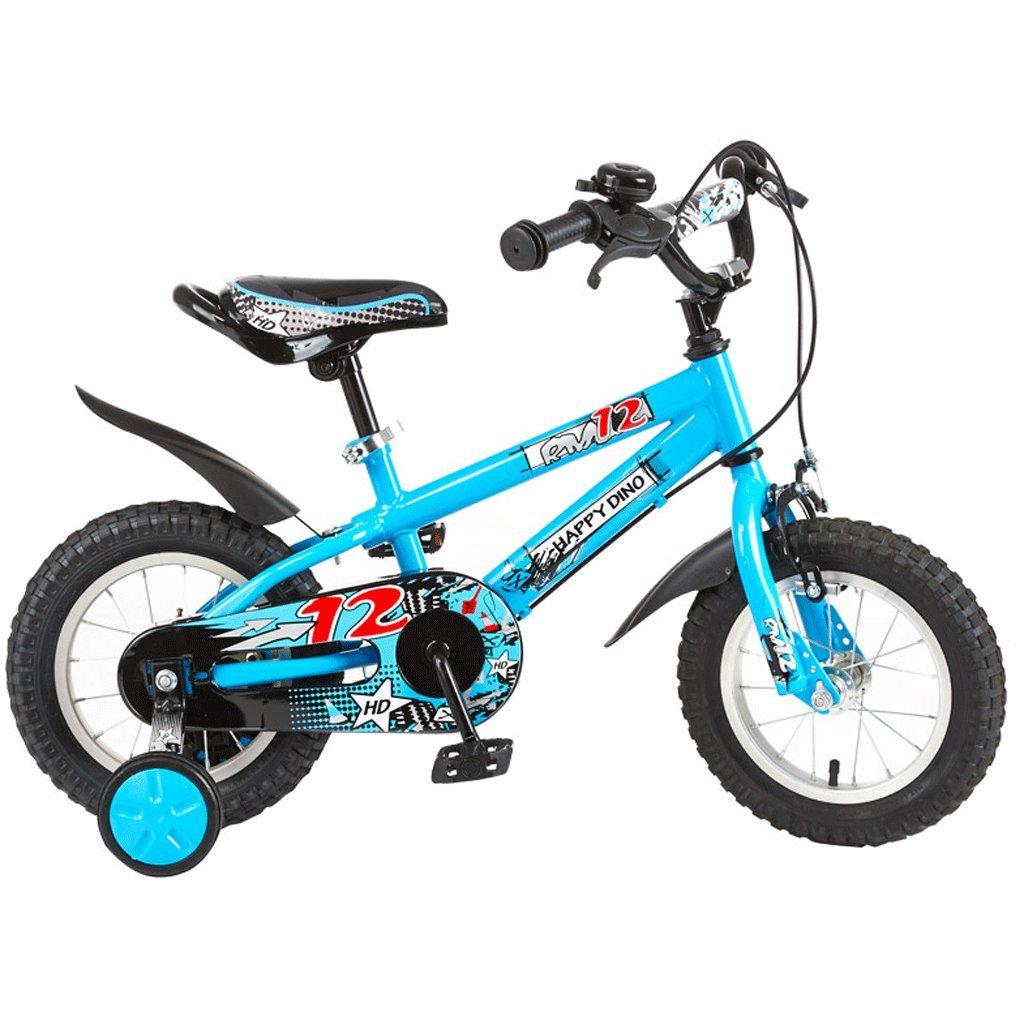 子供用自転車121416インチ男性と女性の赤ちゃんの自転車男の子と女の子の自転車 (色 : 青, サイズ さいず : 14 inches) B07D76PJLW 14 inches|青 青 14 inches