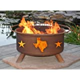 Patina Products F102 Texas State and Stars Fire Pit