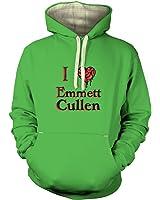 I Heart Emmett Cullen Hoodie (premium) - Film Movie Geeky Tshirt